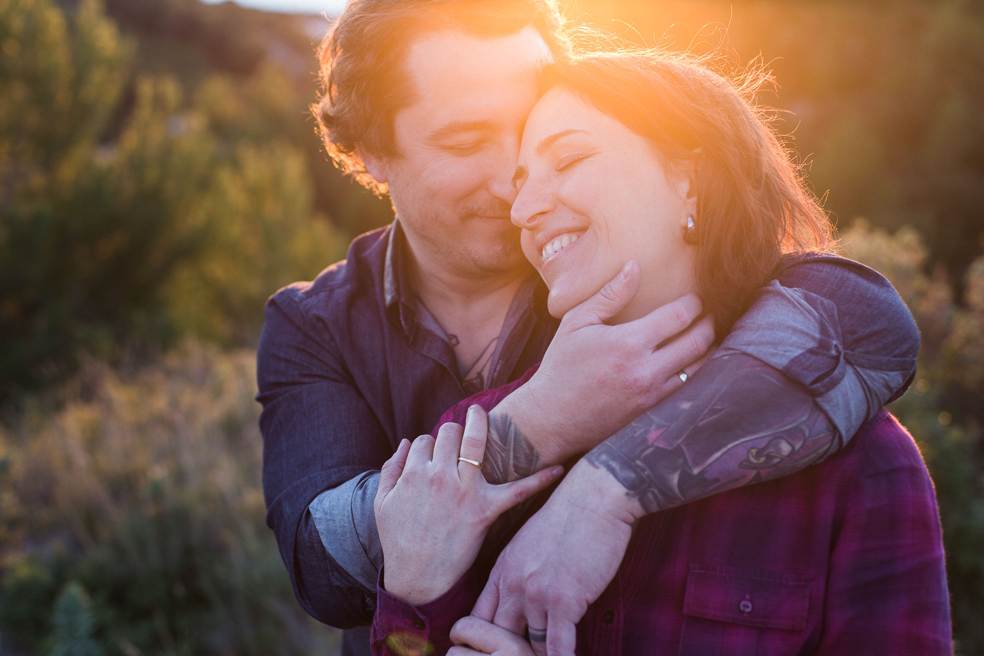23-Photo des parents amoureux