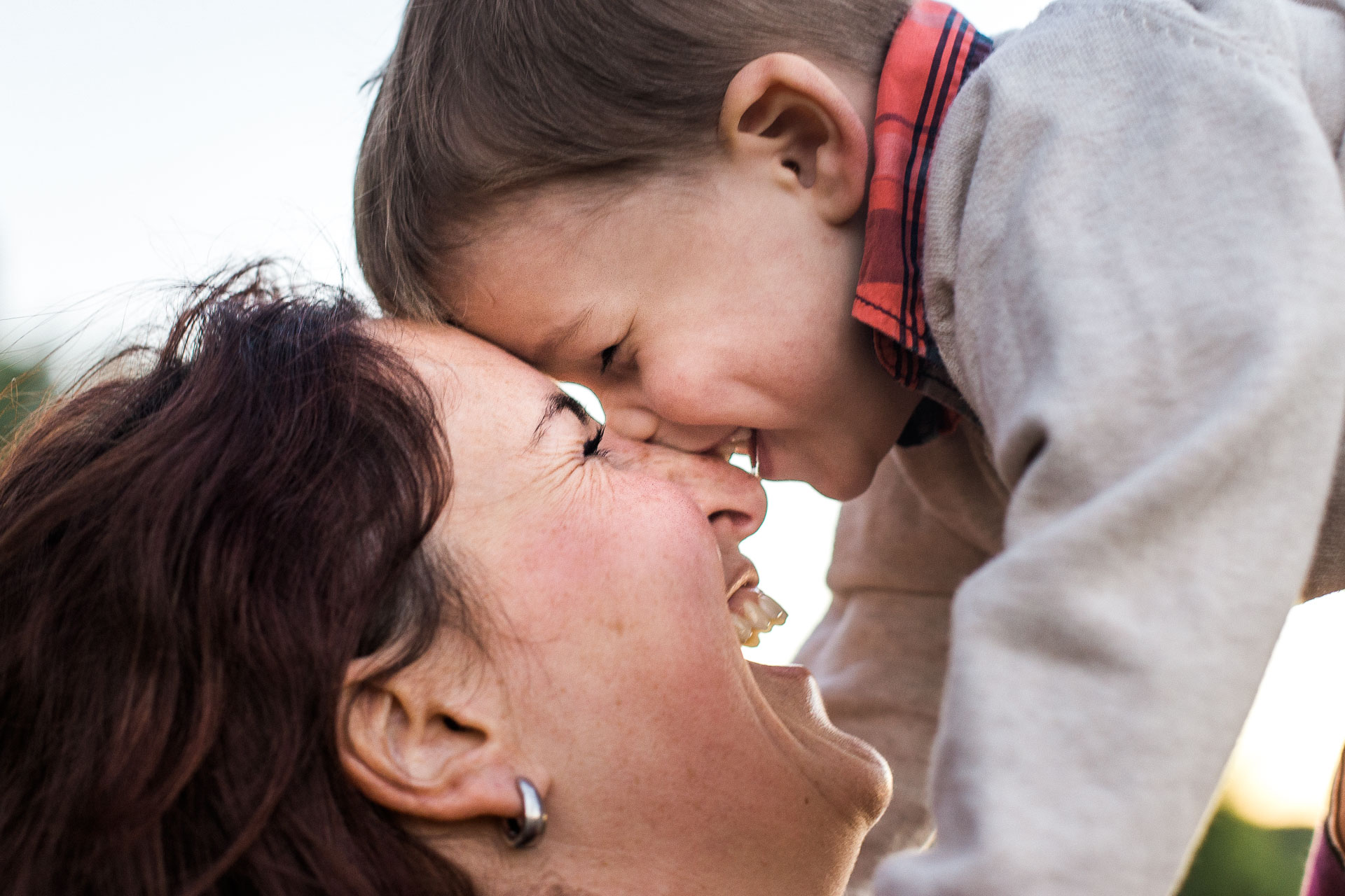 27-Photo maman et son fils pleine amour